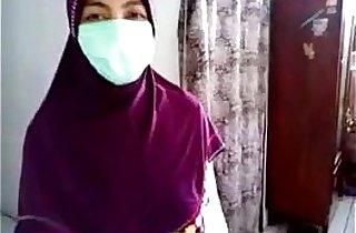 jilbab pamer