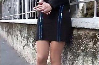 Pornostar italiane Selena Raggi e Isabella Bellini in Scena Lesbo