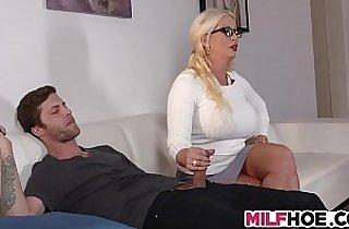 Stepdaughters Boyfriend Seduced By Mom