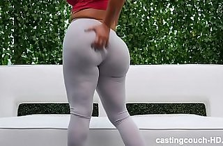 thick white girl piped round two
