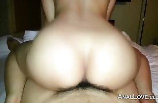 Fucking A Korean Girl in The Ass