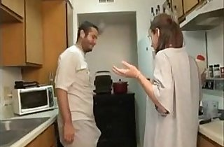 ZGV Brother Sister Blowjob In The Kitchen M
